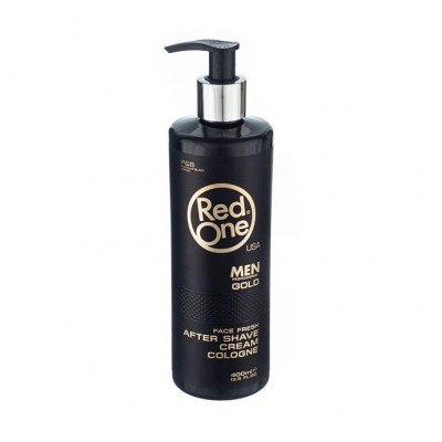 "RED ONE After Shave Cream Cologne ""gold"" - 400 ml"