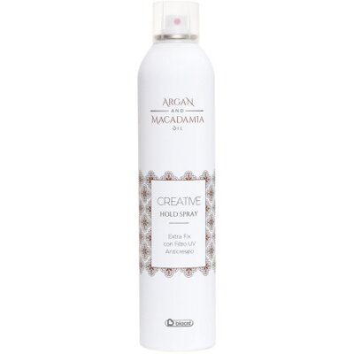 BIACRÉ Argan and Macadamia Oil lak na vlasy - 400 ml